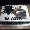Tort dla fanki Wiedzmina #wiedzmin #tort z #grami #tort #okolicznościowy #tort #dla #dorosłych #torty #tort