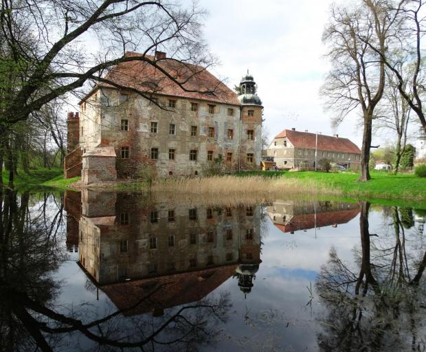 pałac w Broniszowie..