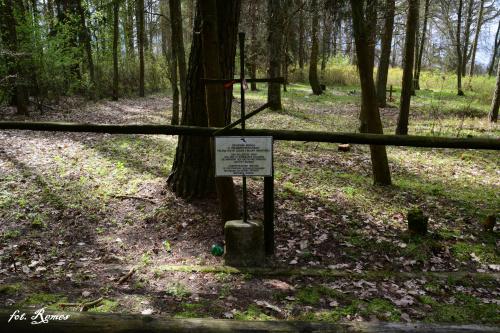 Zbiorowa mogiła żołnierzy armii rosyjskiej, jest miejscem spoczynku 19 żołnierzy armii rosyjskiej poległych w Iwś 1914-15