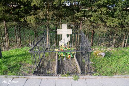 Bystry - miejsce spoczynku 1 nieznanego żołnierza armii rosyjskiej.