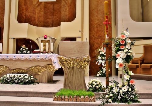 Chwalę się ... tak przygotowałam kościół dla dzieci na I Komunię św. 30.04.2017