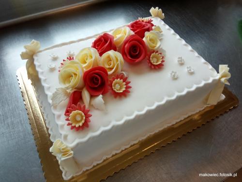 Tort okazjonalny #tort #urodzinowy #torty #tort #okazjonalny #óże #kwiaty