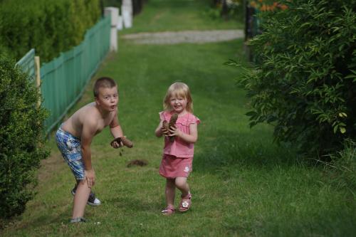 bitwa na szyszki :)