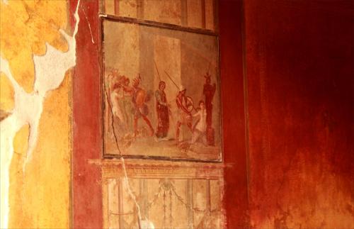 Włochy, Pompeje, Dom Menandra