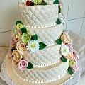 tort weselny 18 kg #tort #weselny #tort #oklicznosciowy #torty #torrt #weselne #tortytort z #kwiatami