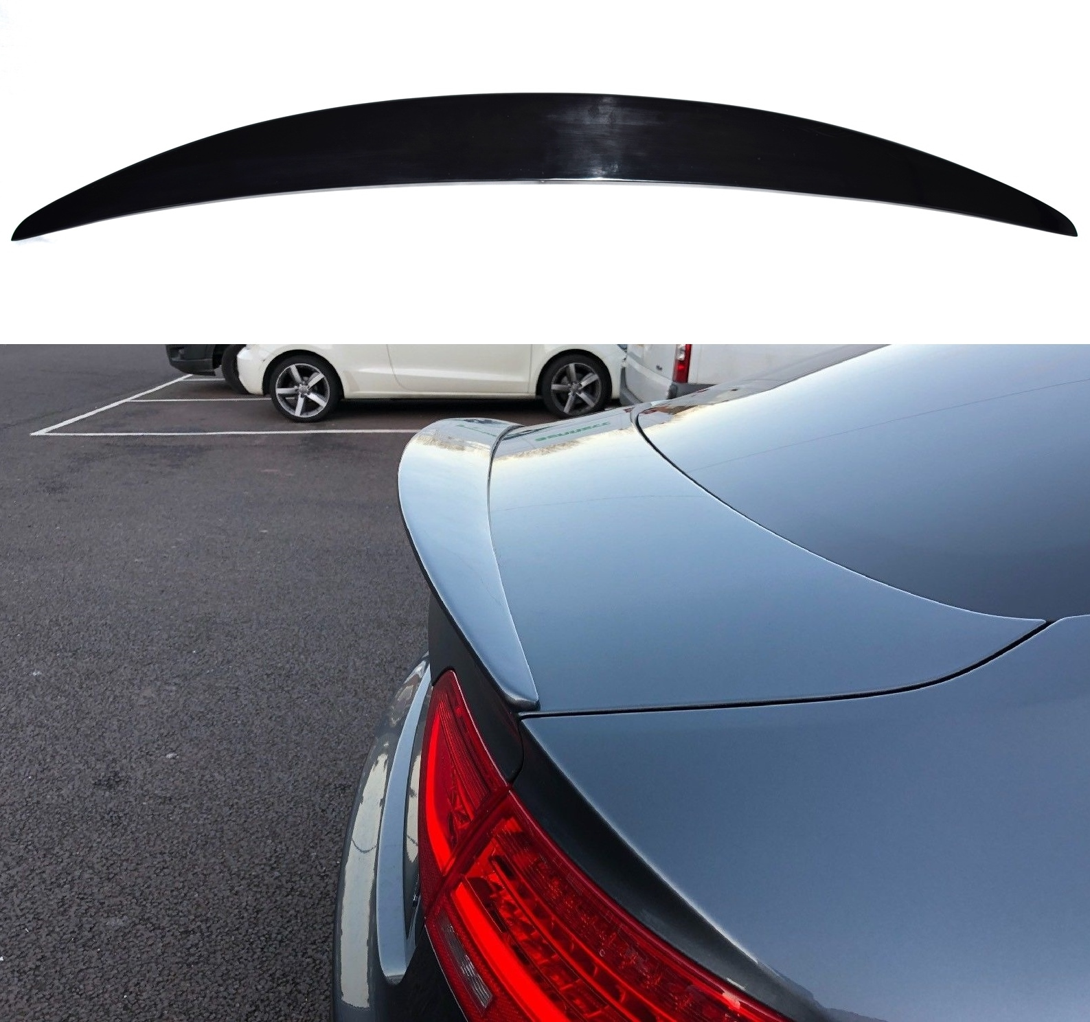 Fits Audi A5 Sportback (5 Doors) Rear Boot Spoiler 2007 ...