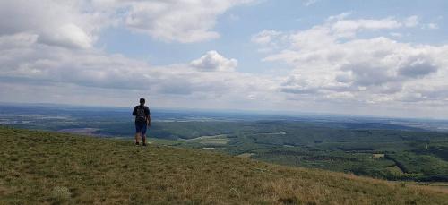 Widok z czeskiej Palavy