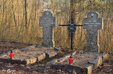 Szkody - nieczynny cmentarz Ewangelicki