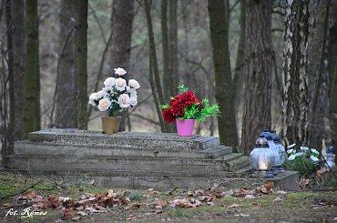 Szczechy Wielkie - nieczynny cmentarz Ewangelicki
