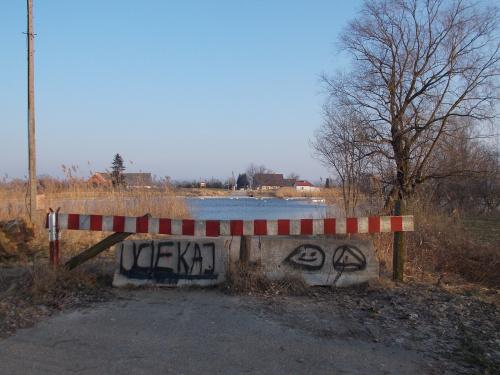 Kępiny Małe- dawne miejsce pracy promu ,,Wacław ll''