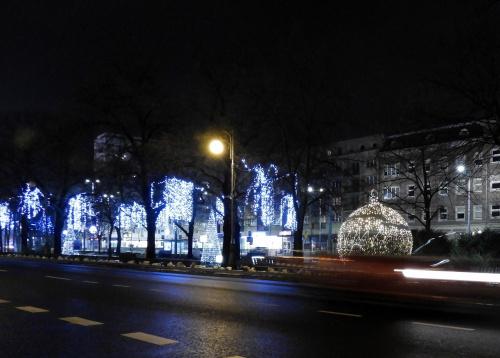 Szczecin ciągle jeszcze świąteczny.
