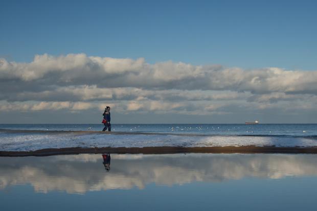 Z okazji Walentynek...radosnego kroczenia w chmurach :)))