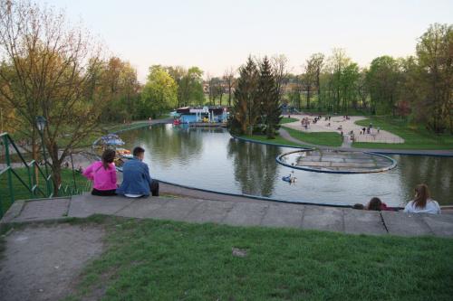 popołudnie w Parku Jordana