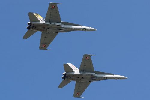 McDonnell Douglas F/A-18C Hornet, Switzerland - Air Force
