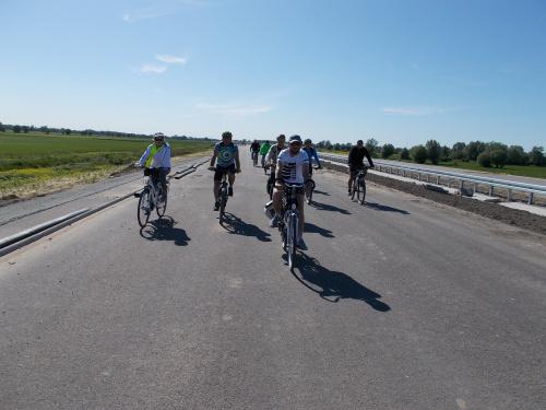 Na trasie - na S7 rządzą jeszcze rowery. Na razie ;-)