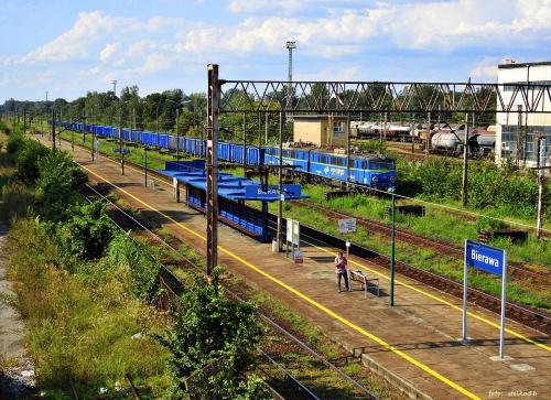 ... na stacji Bierawa ...