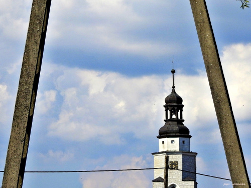 Wieża kościoła p. w. Trójcy Świętej ...
