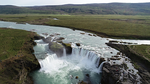 Islandia - wodospad Goðafoss