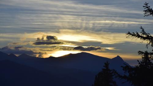Zachód w Tatrach