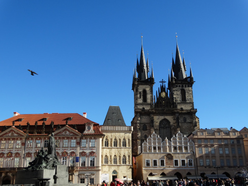 Prague - City Town Center square