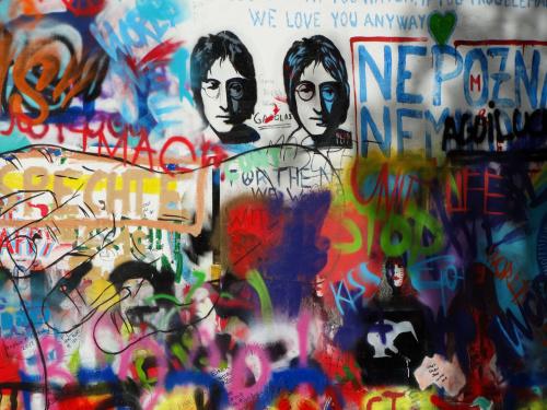 Lennon Wall / Praha