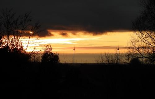 Widok z mojego okna dziś.
