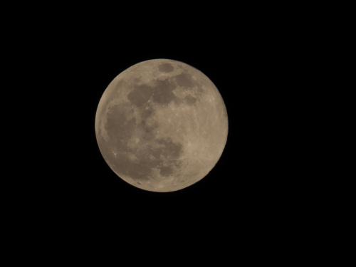 Super księżyc 2019.02.19