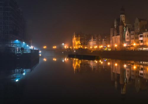 Gdańsk .... we mgle