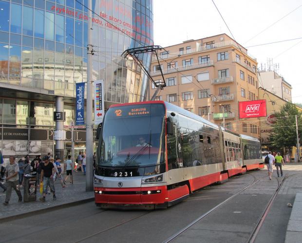 """Škoda ForCity 15T """"Praha"""", #9231, DP Praha"""