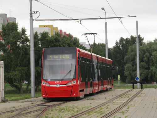 Škoda 30T, #7510, DP Bratislava