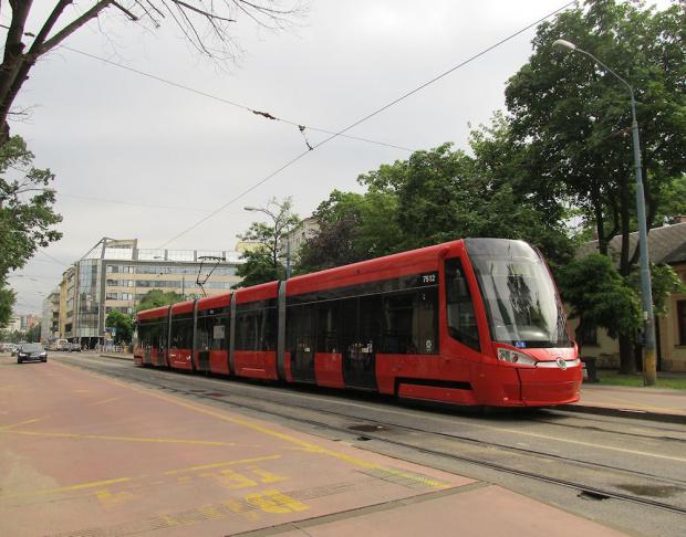 Škoda 30T, #7512, DP Bratislava