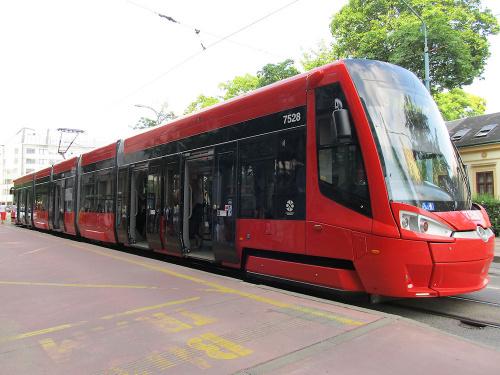 Škoda 30T, #7528, DP Bratislava