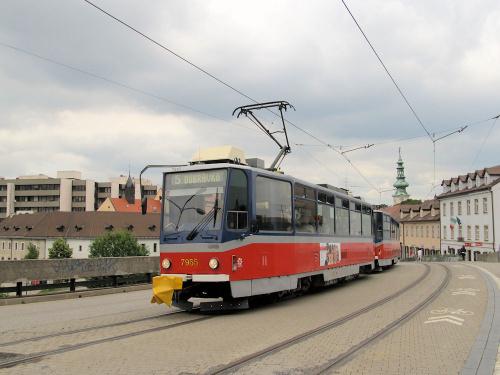 Tatra T6A5, #7955, DP Bratislava