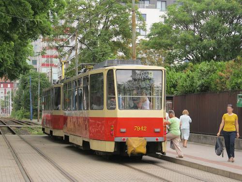 Tatra T6A5, #7942, DP Bratislava