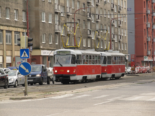 Tatra T3P, #7791+7790, DP Bratislava
