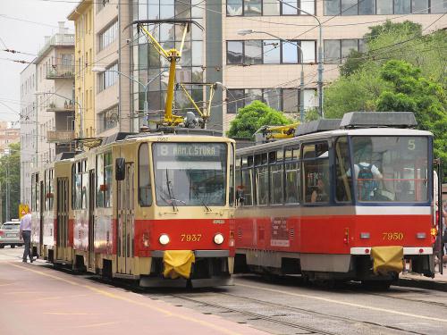 Tatra T6A5, #7937, DP Bratislava