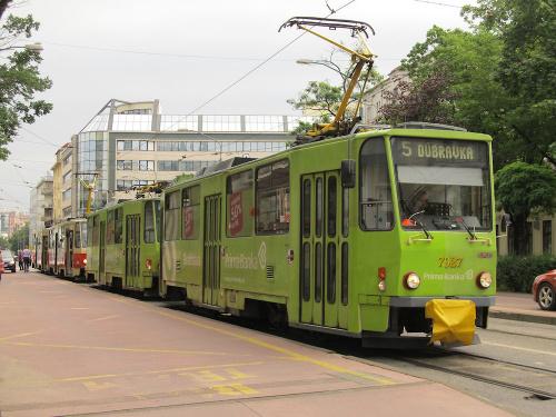 Tatra T6A5, #7927, DP Bratislava