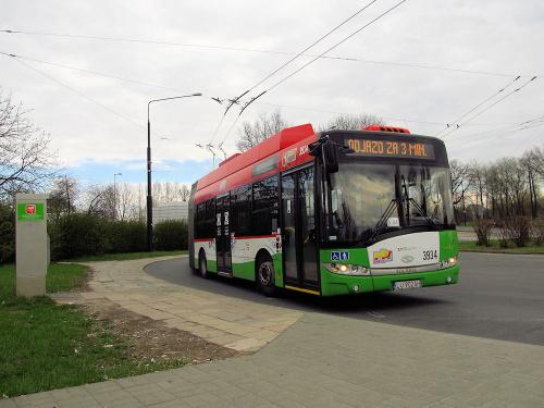 Solaris Trollino 18AC, #3934, MPK Lublin