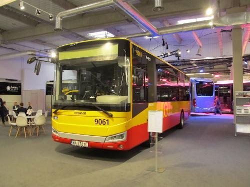Otokar Vectio C, #9061, Arriva Transport Warszawa