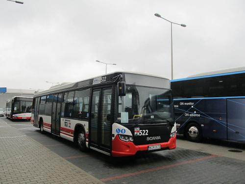 Scania OmniCity CN280UB 4x2 EB, #522, Warbus Warszawa
