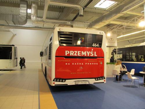 Autosan Sancity M12LF CNG, #464, MPK Przemyśl