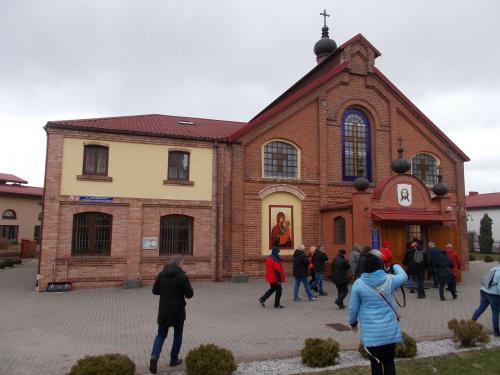 Iława-cerkiew greckokatolicka w budynku dawnej gazowni.