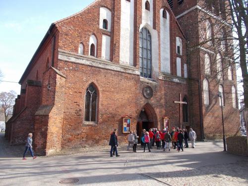 Pasłęk - kościół św. Bartłomieja.