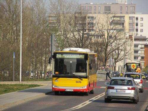 Otokar Vectio C, #9076, Arriva Transport Warszawa