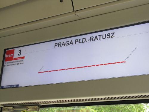 """PESA 128N """"Jazz-Duo"""", #3648, Tramwaje Warszawskie"""