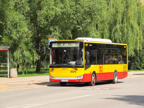 Otokar Vectio C, #9075, Arriva Bus Transport Warszawa