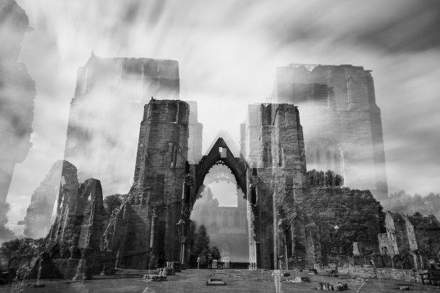 Cień dawnej świetności - ruiny katedry w Elgin