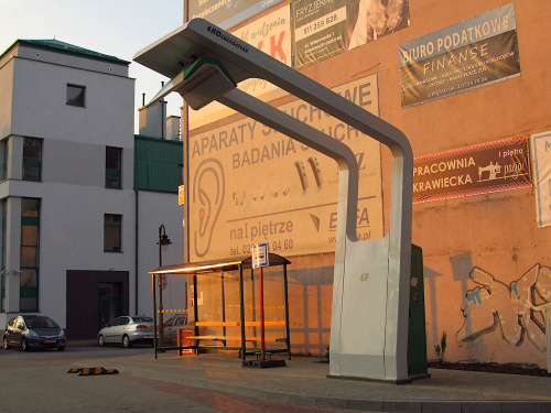 Ładowarka dla autobusów elektrycznych, w Konstancinie Jeziornej
