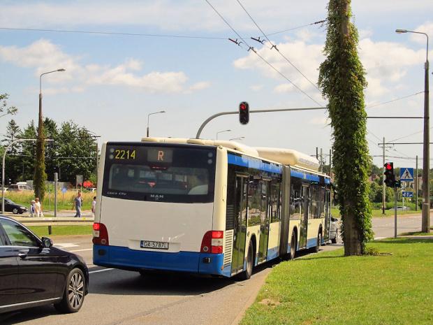 MAN NG313 Lion`s City G CNG, #2214, PKM Gdynia