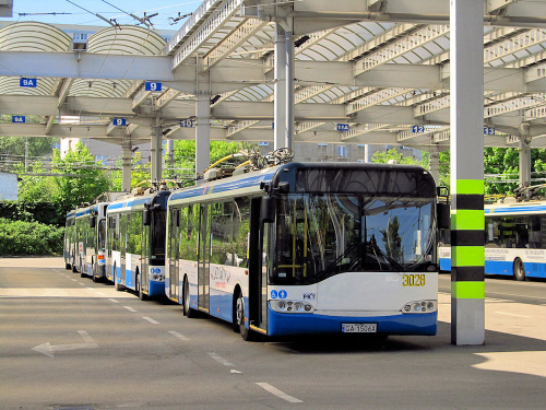 Solaris Trollino 12AC, #3028, PKT Gdynia